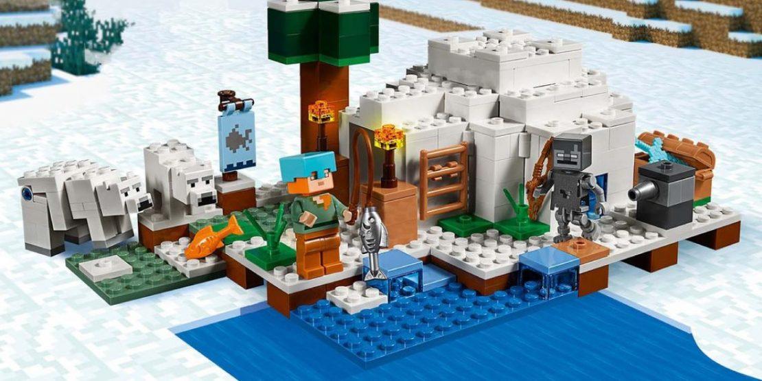 LEGO Minecraft Polar Igloo #21142