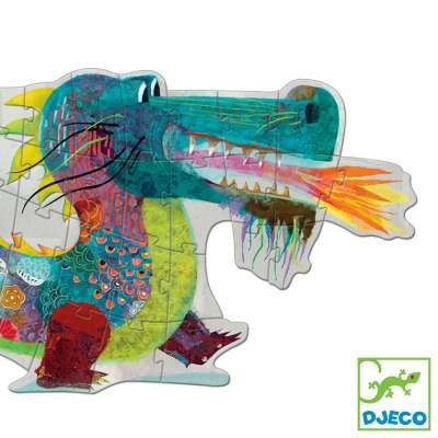 Leon the Dragon Jigsaw Puzzle from Djeco