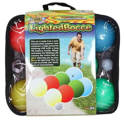 Lighted Bocce Ball from Water Sports