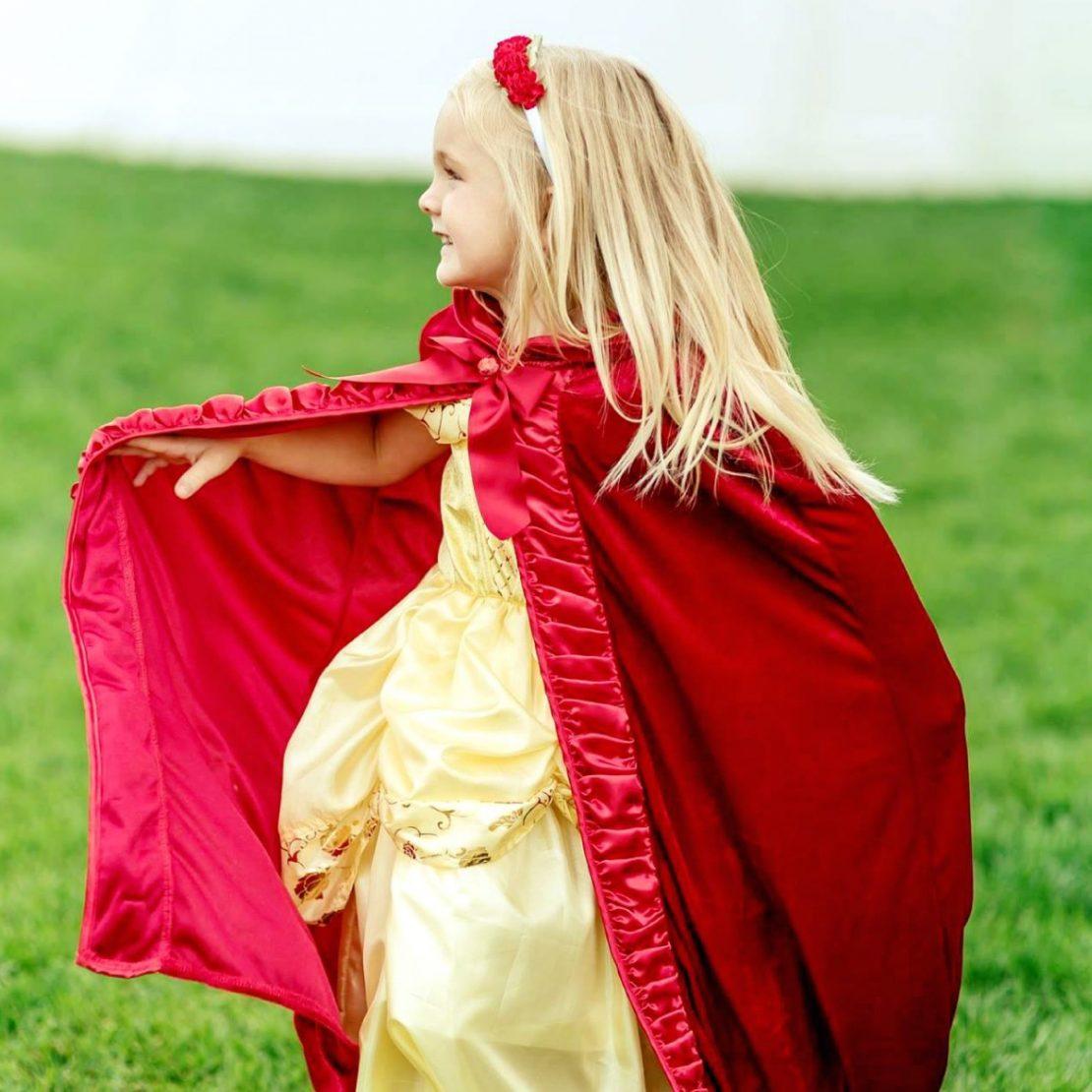 Little Adventures Deluxe Red Velvet Cloak