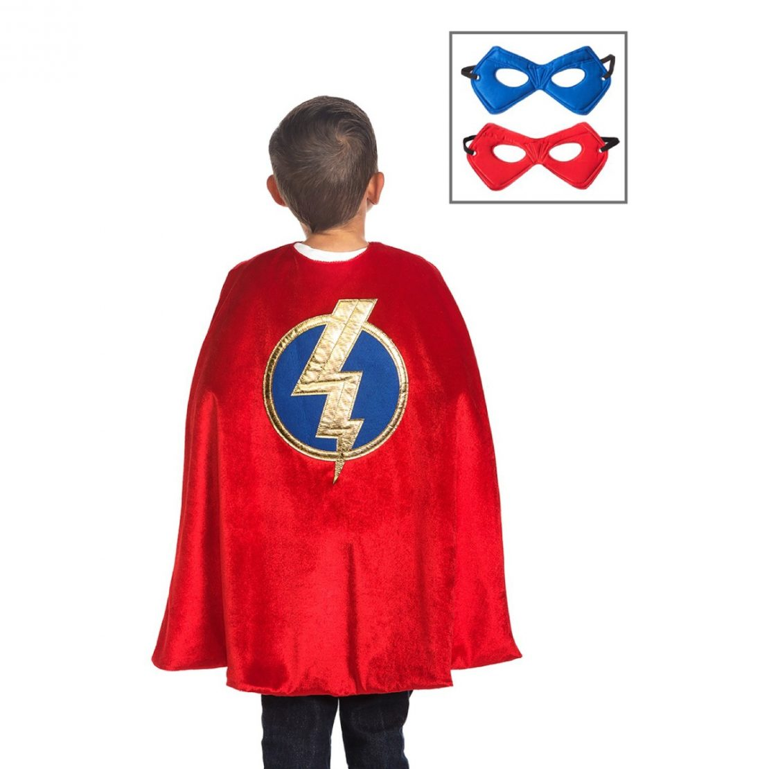 Little Adventures Hero Cape and Mask Set - Red