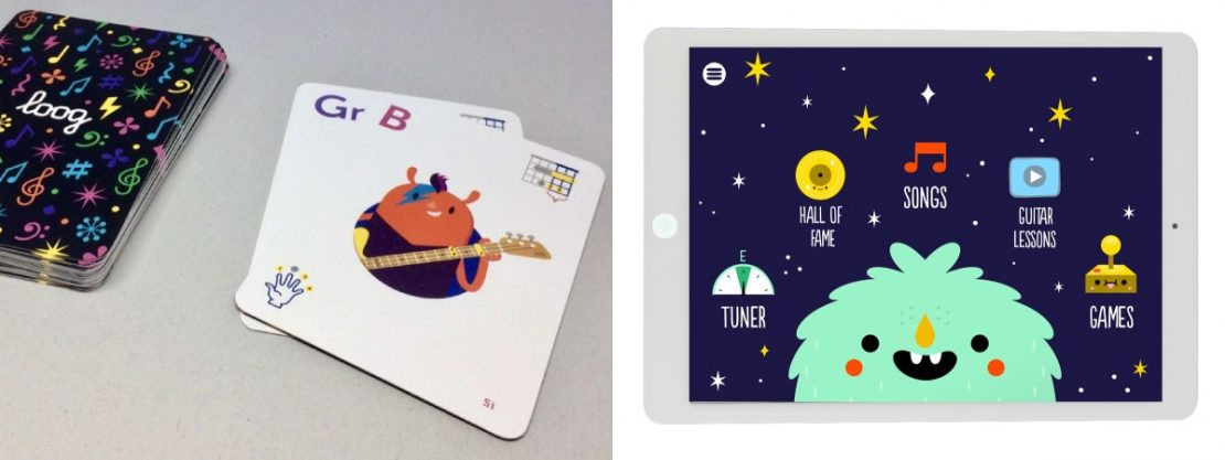 Loog Chord Cards and App
