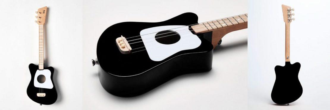 Loog Mini Acoustic Guitar in Black