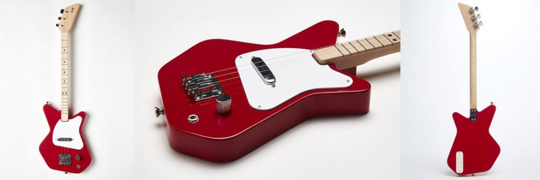 Loog Pro Electric Guitar in Red
