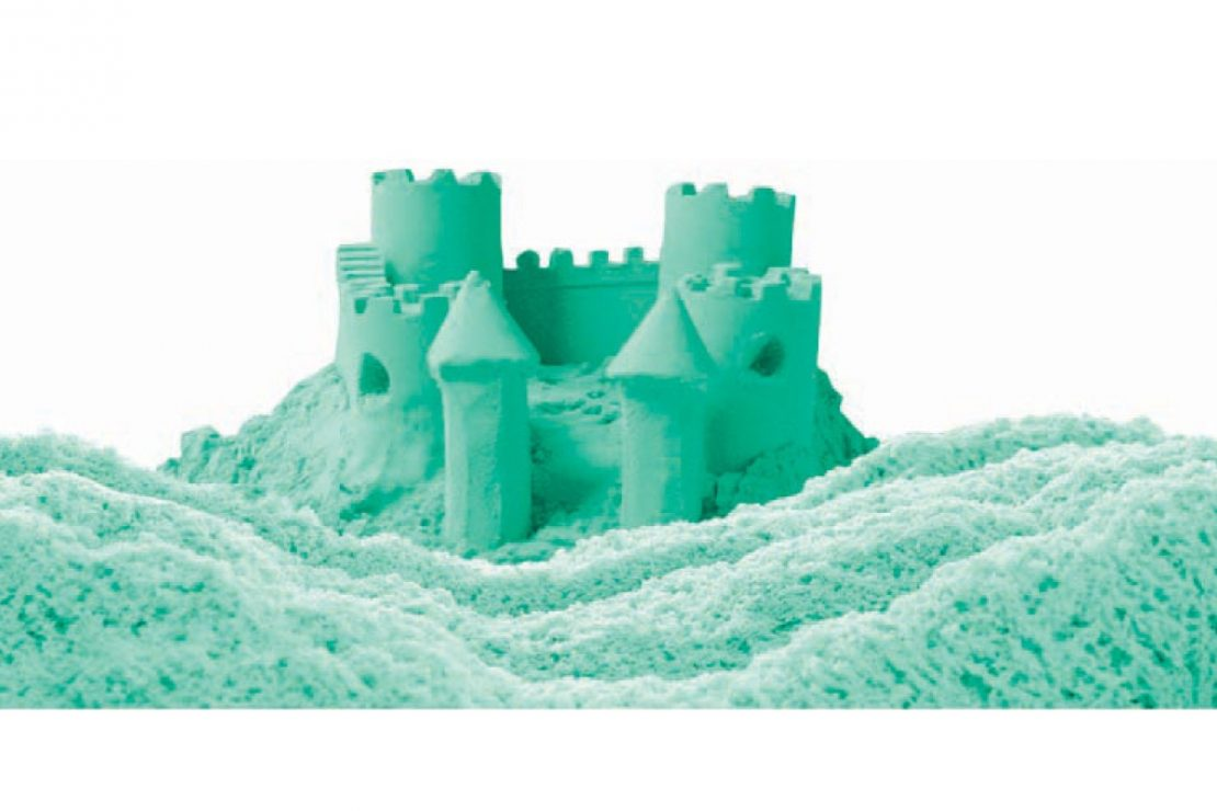 Mad Mattr castle in teal