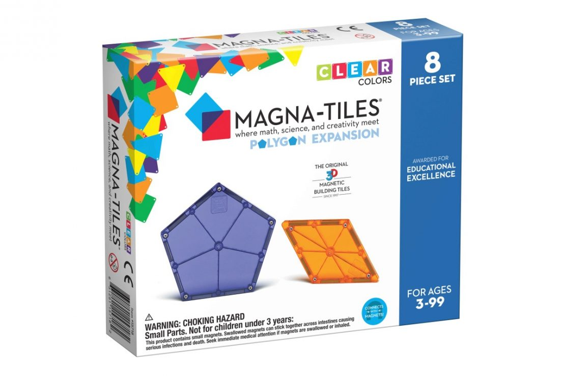 Magna-Tiles Expansion Pack Polygons