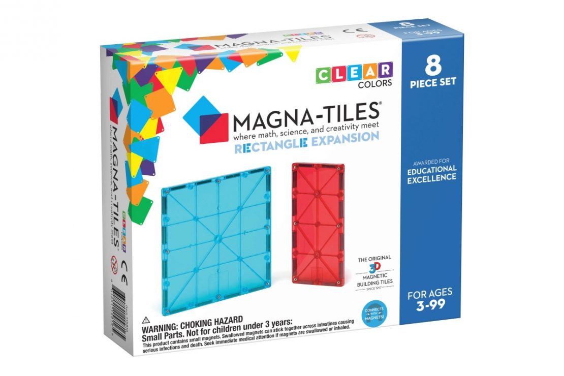 Magna-Tiles Expansion Pack Rectangles
