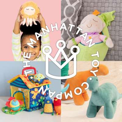Plush and Soft Toys from Manhattan Toy