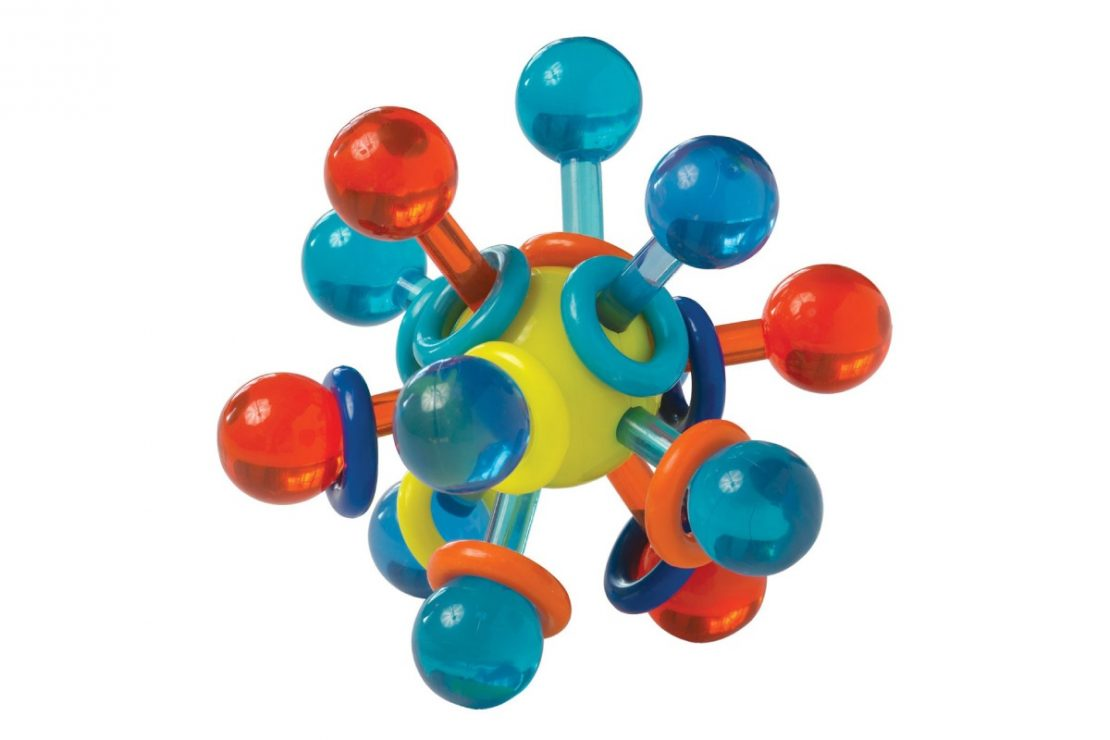 Atom Teether from Manhattan Toy