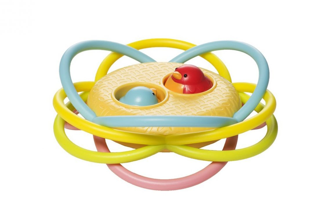 Birdie Hide n Seek Teether from Manhattan Toy