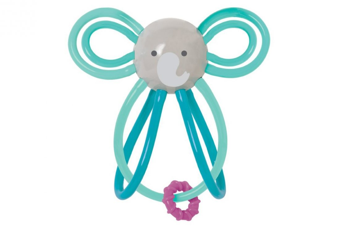 Zoo Winkel Teether from Manhattan Toy