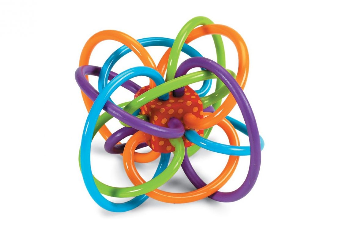 Winkel Teether from Manhattan Toy