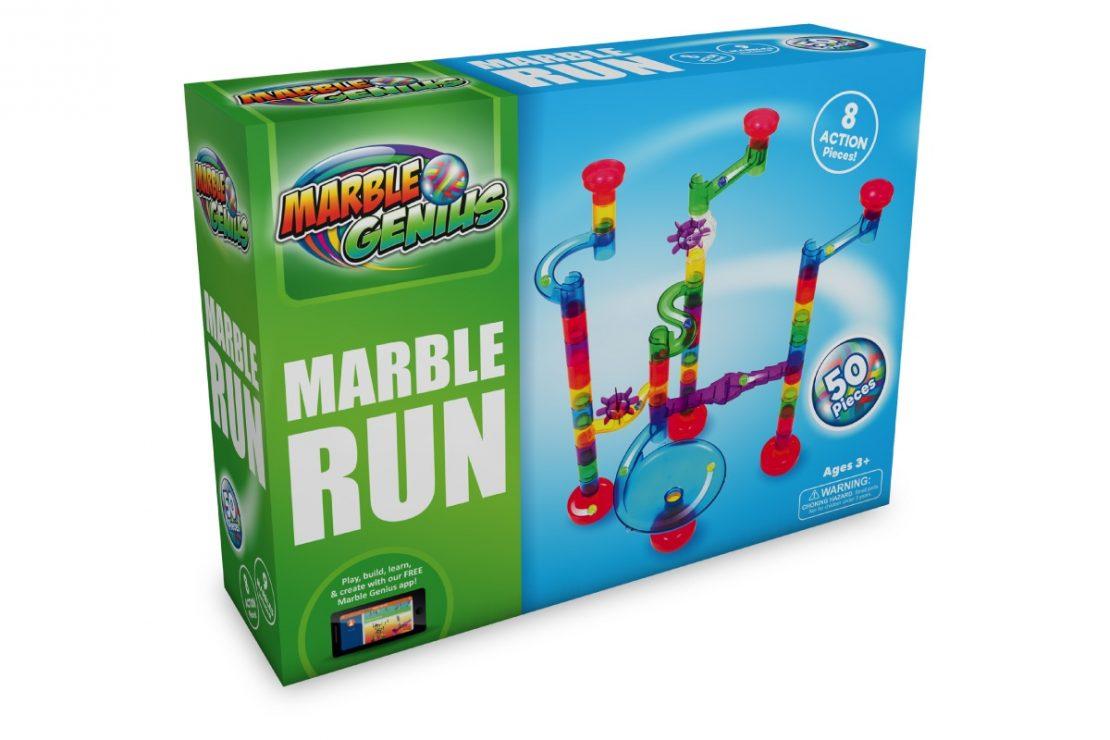 Marble Genius 50 Piece Marble Run