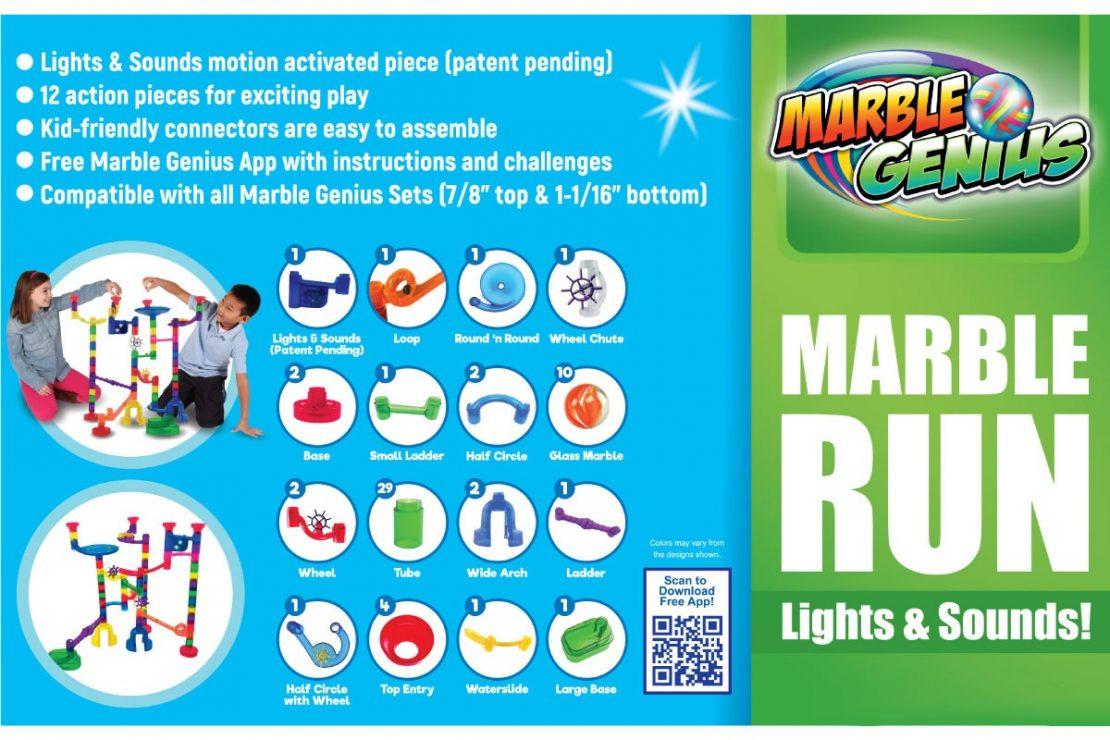 Marble Genius Wacky Lights & Sounds