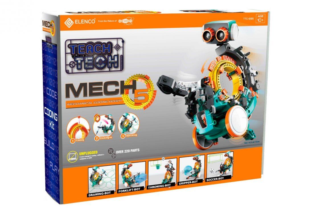 Mech5 Robot from Elenco