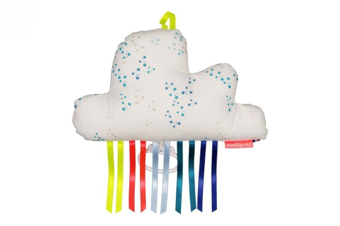 Mellipou Large Music Cloud Kurt Fabric