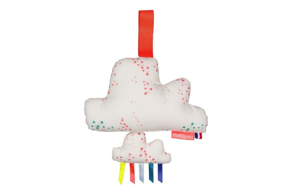 Mellipou Small Music Cloud Alanis Fabric