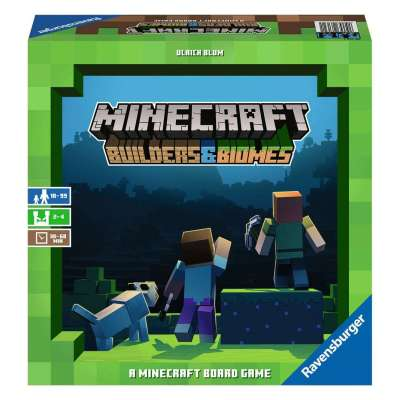 Minecraft Builders & Biomes Game from Ravensburger