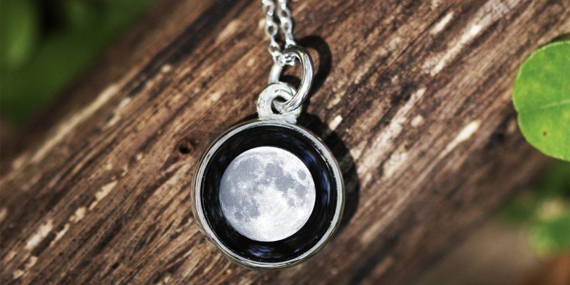 Full Moon Moonglow Pendant