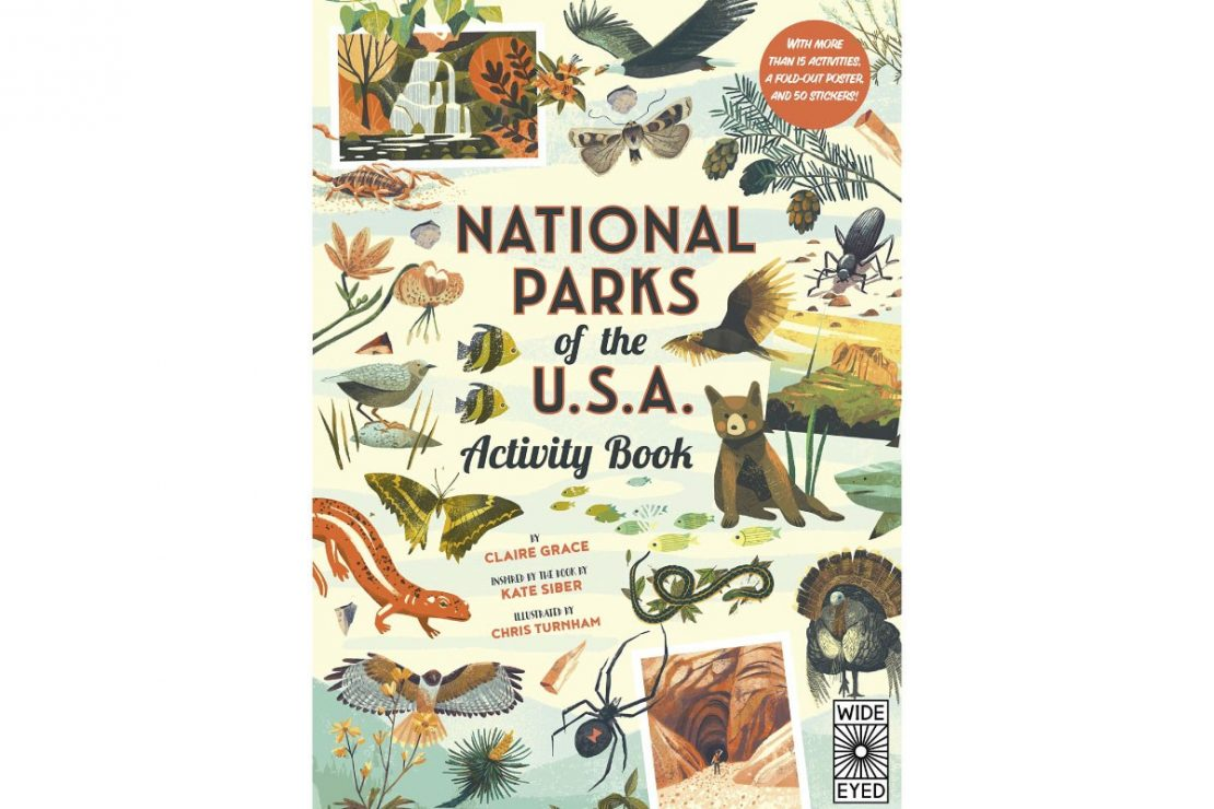 National Parks of the USA Activity Book by Claire Grace