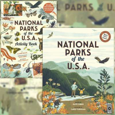 National Parks of the USA by Kate Siber & National Parks of the USA Activity Book