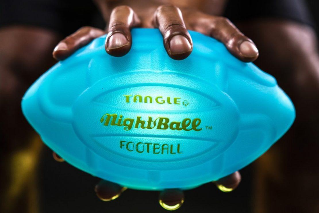 NightBall Football in Blue
