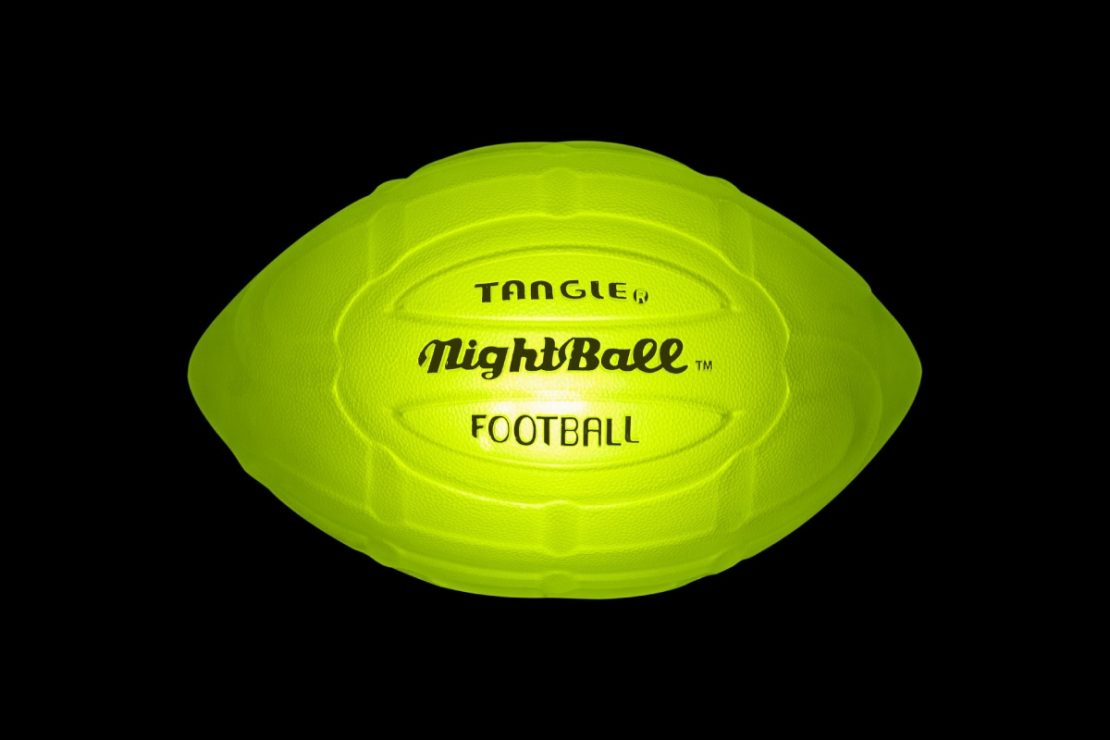 NightBall Football in Green