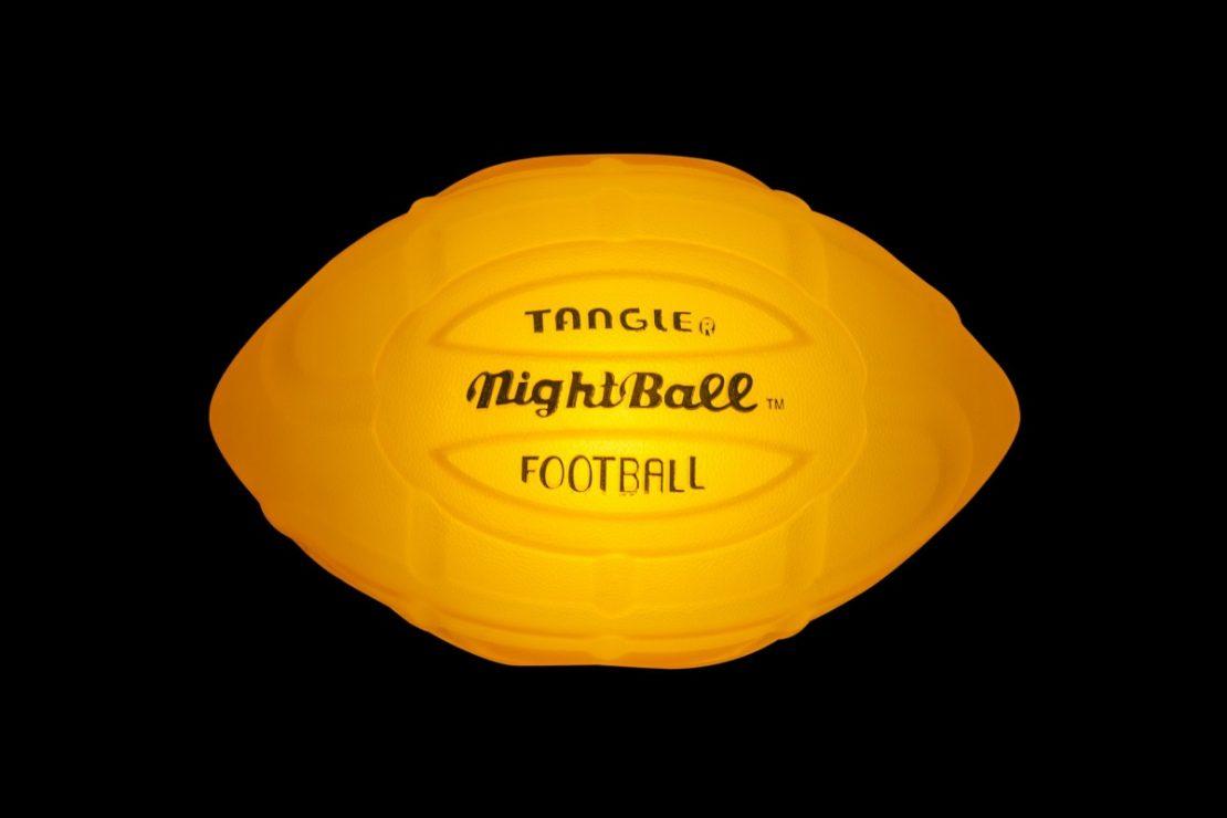 NightBall Football in Orange