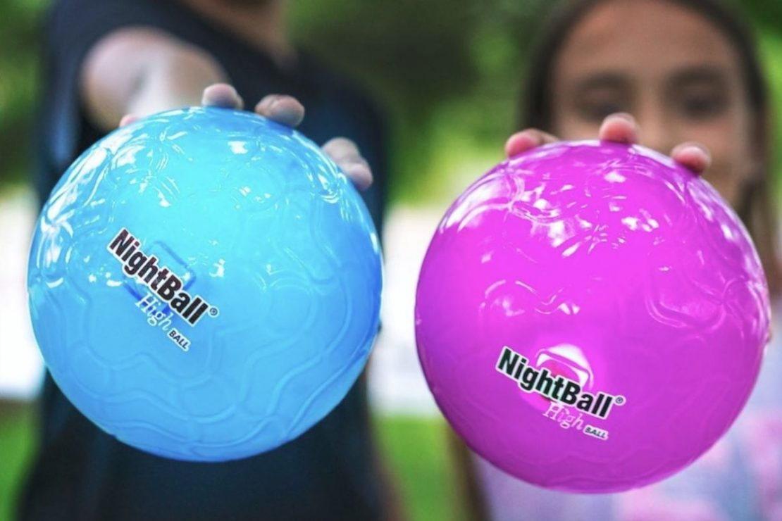 NightBall Highballs in Blue & Purple