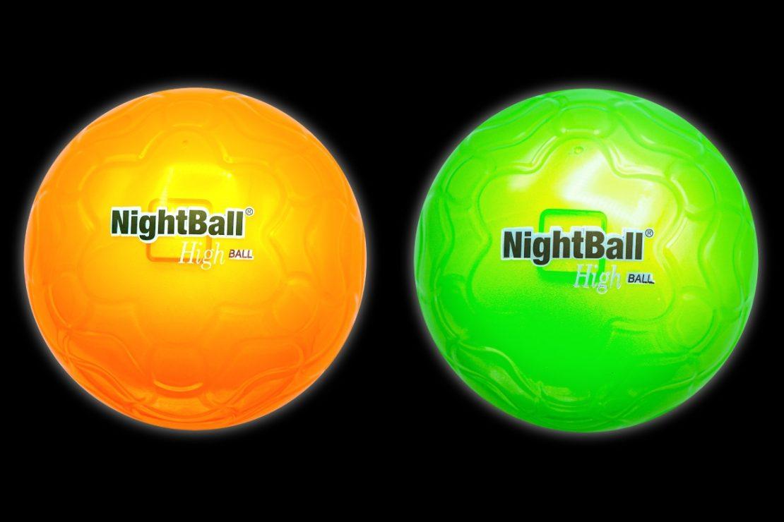 NightBall Highballs in Orange & Green