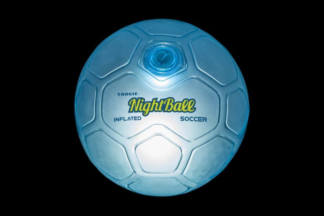 Soccer NightBall in Blue