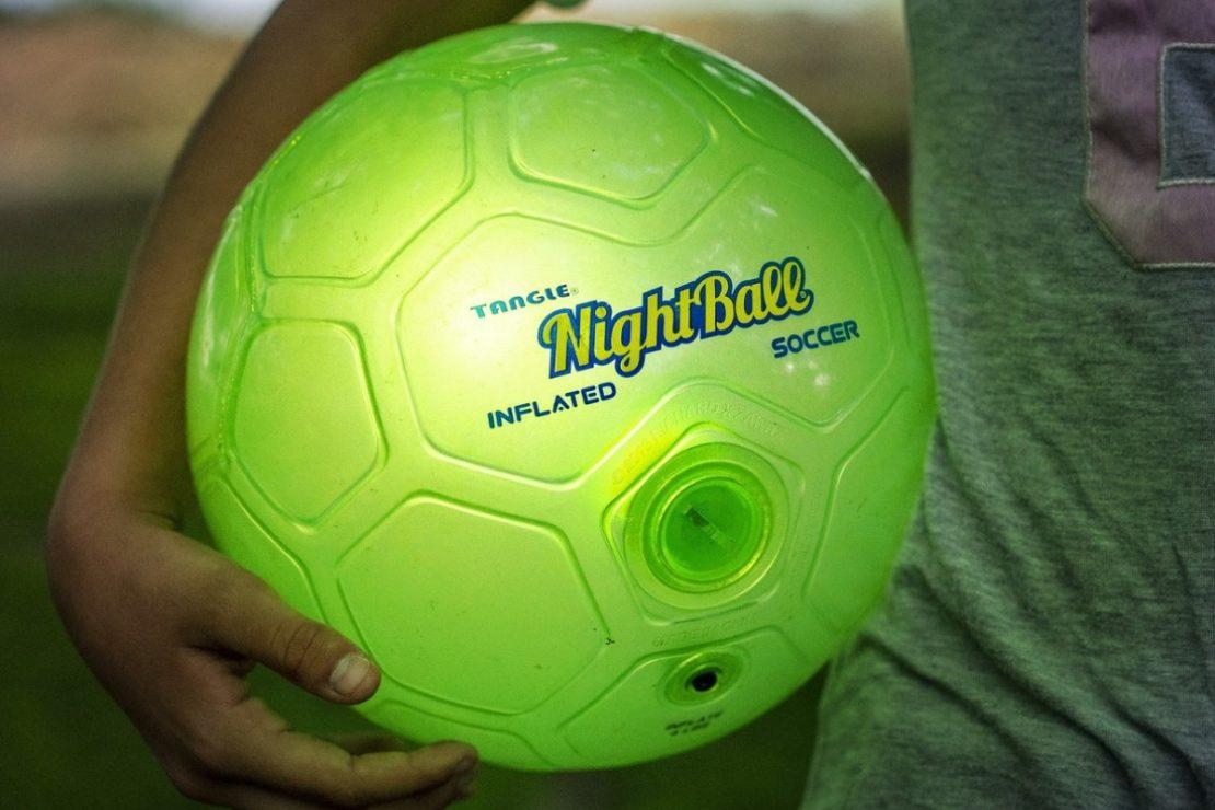 Soccer NightBall in Green