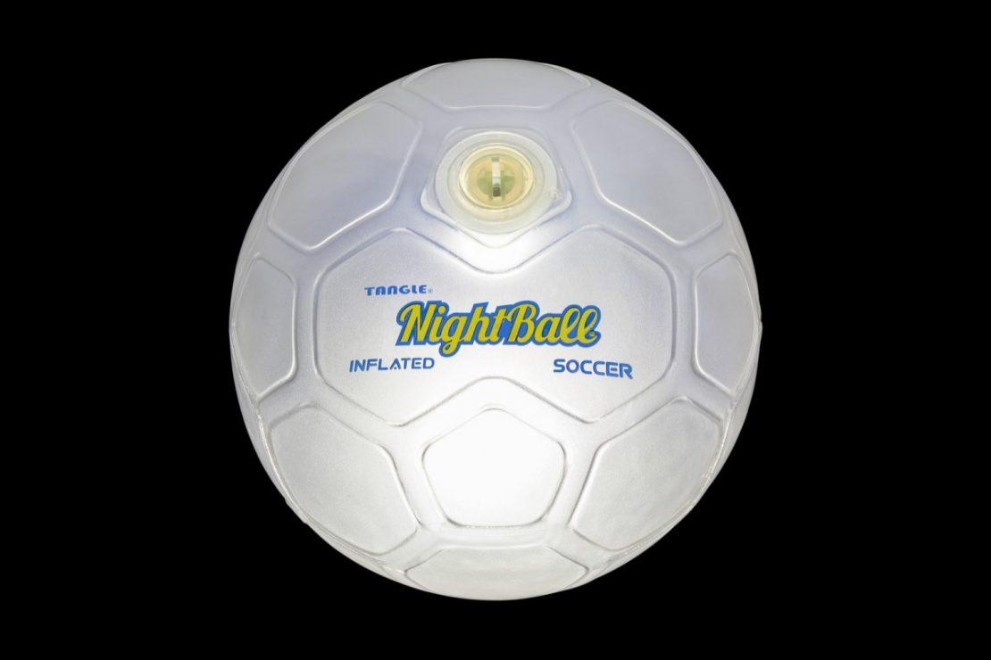 Soccer NightBall in White