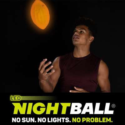 NightBall: No Sun. No Lights. No Problem.