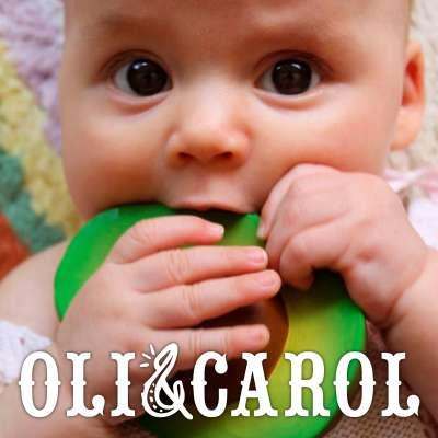 Oli & Carol Natural Rubber Teethers & Bath Toys