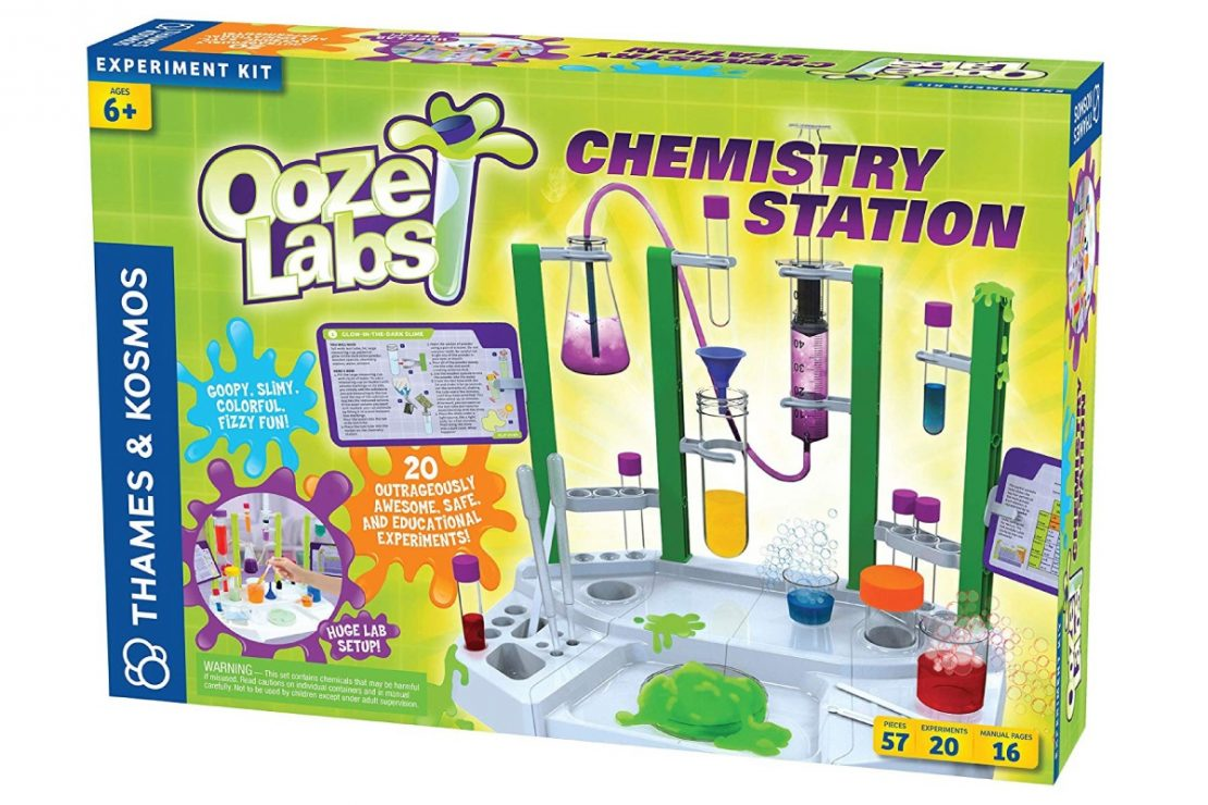 Ooze Lab Chemistry Set from Thames & Kosmos