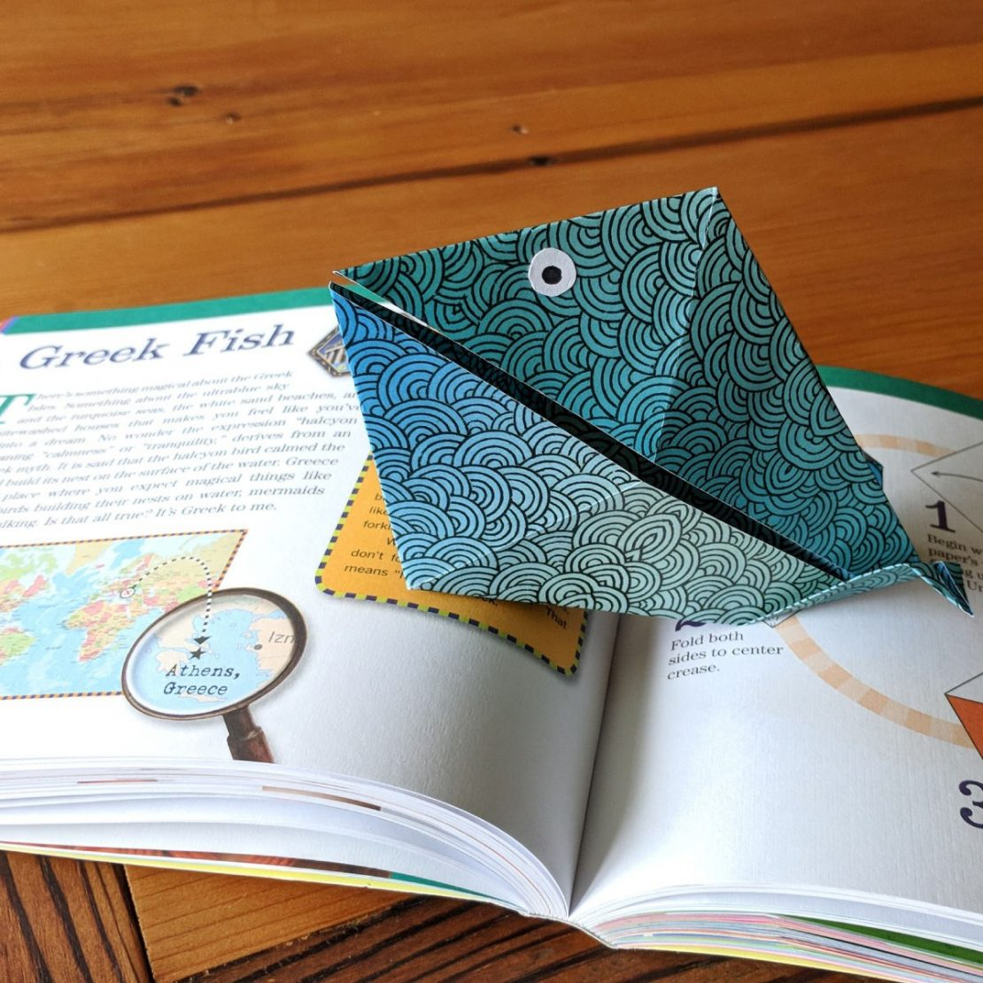 Origami on the Go example