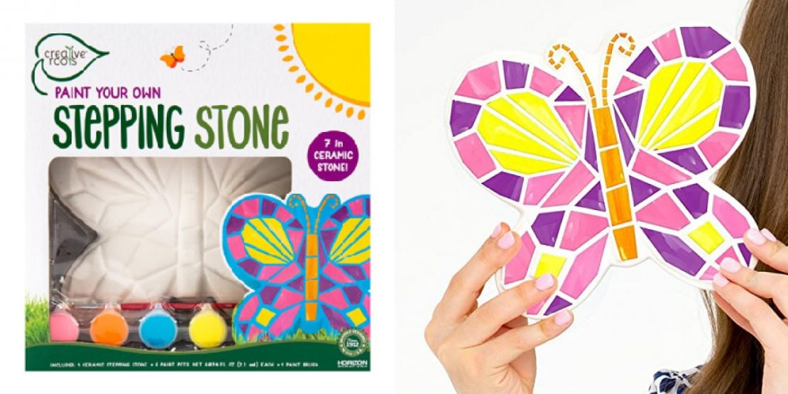 Paint Your Own Stone Butterfly from Creative Roots