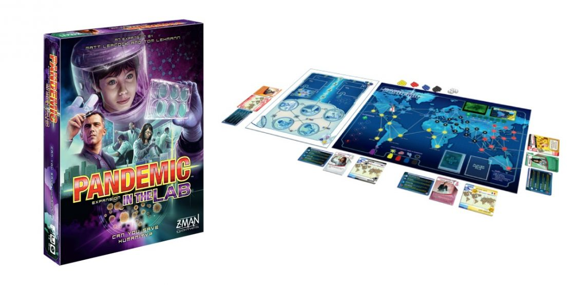 Pandemic Expansion Game: In The Lab