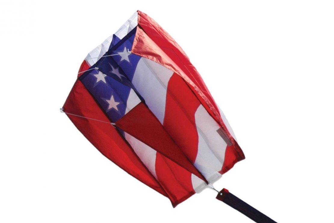 Patriotic Parafoil Kite from Premiere Kites