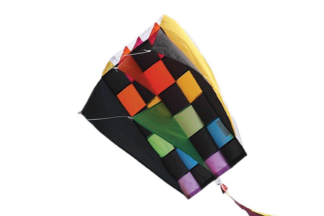 Rainbow Tecmo Parafoil Kite from Premiere Kites
