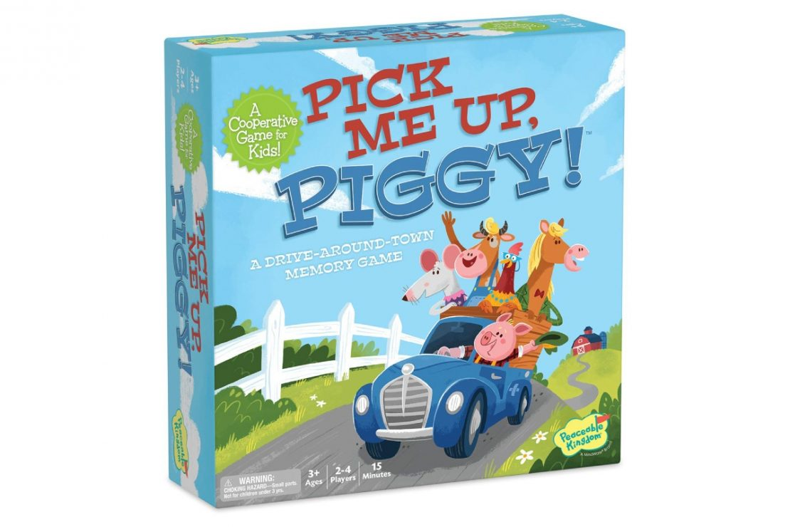 Pick Me Up Piggy from Peaceable Kingdom
