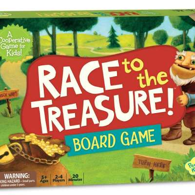 Race to the Treasure from Peaceable Kingdom