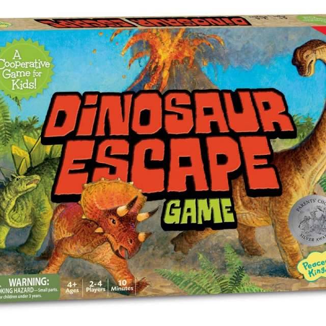 Dinosaur Escape from Peaceable Kingdom