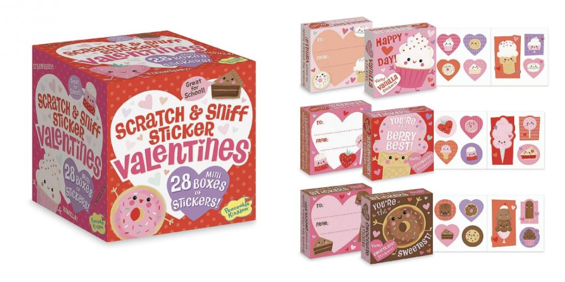 Boxed Scratch n Sniff Sticker Valentines