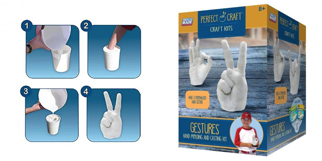 Perfect Craft Gestures Hand Molding & Casting Kit