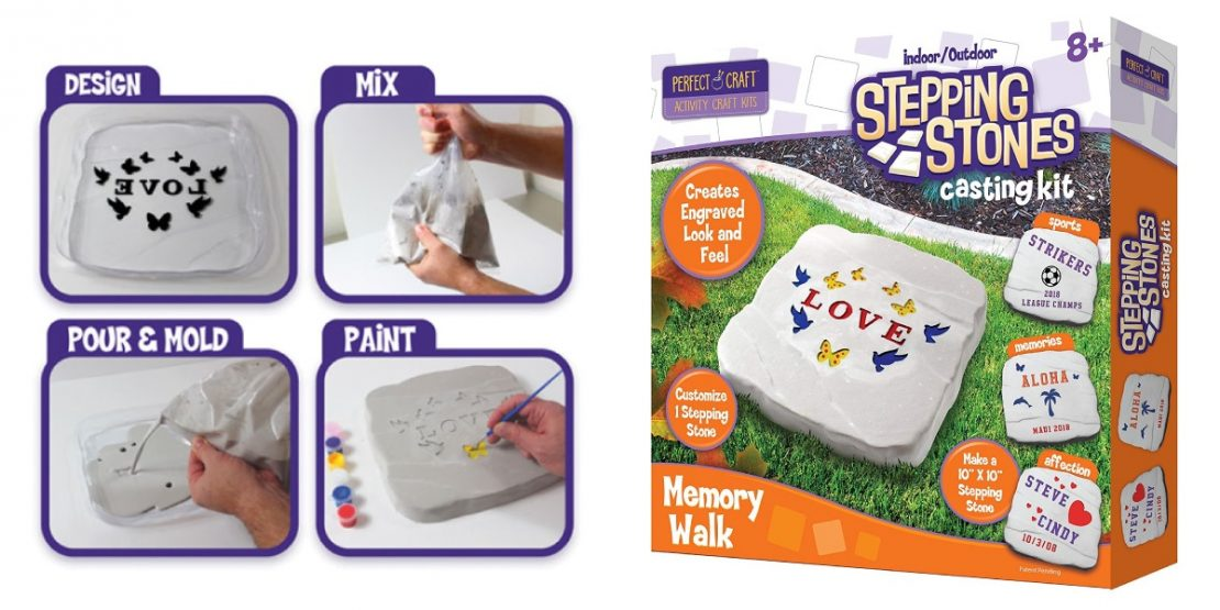 Perfect Craft Memory Walk Stepping Stone