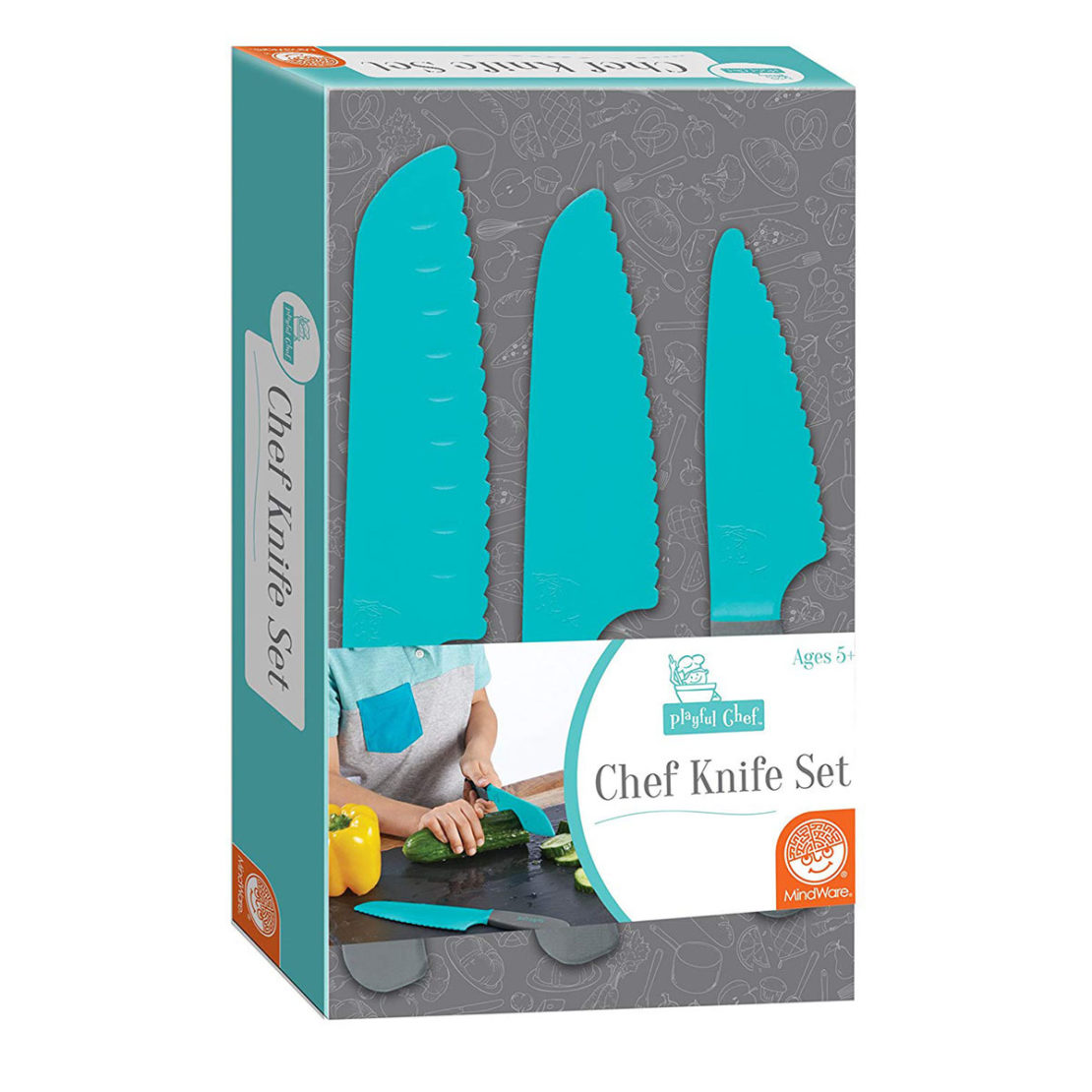 Playful Chef Knife Set Box