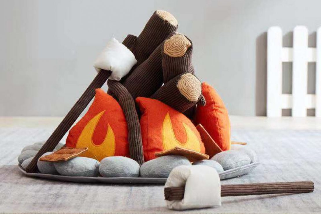 Campfire S'mores from ASweets