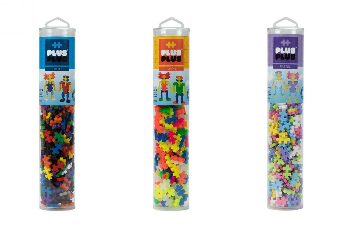 Plus Plus 240 piece tubes